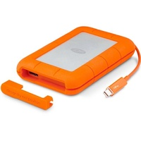 2TB LaCie Rugged Thunderbolt v2 & USB3.0 Portable Hard Drive STEV2000400