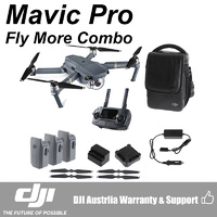 DJI Mavic Pro 4K UHD Mini Drone with Controller Fly More Combo Kit