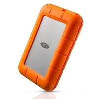 1TB LaCie Rugged USB-C Portable Hard Drive STFR1000800