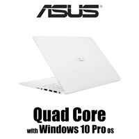 "WINDOWS 10 PRO SUPPORT! ASUS E406SA-BV037T 14"" N3710 4GB 64GB W10S White"