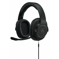 Logitech G433 7.1 Wired Surround Gaming Headset - Black 981-000670