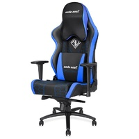 Anda Seat AD4XL Spirit King Series BLUE Gaming Chair w/ (Large Headrest, Cushion) AD4XL-05-BS-PV-S04