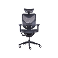 GTCHAIR GR-V7-X-BK Black Vida Ergonomic Gaming/Office Chair