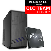 OLC-102 Team AMD READY to GO System | 3200G 4 Core 4 Thread | Vega Graphics | SSD