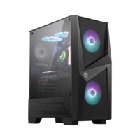 *SPECIAL* MSI MAG FORGE 100R Tempered Glass Mid Tower Case