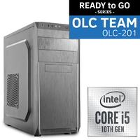 OLC-201 10th Gen Team Intel READY to GO System | i5-10500 6 Core 12 Thread | UHD Graphics | SSD | WiFi BT