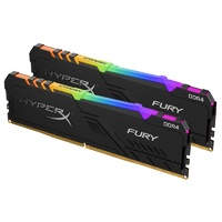 Kingston HyperX FURY RGB 32GB (2x16GB) DDR4 3600MHz CL17 Udimm RAM