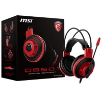 MSI DS501 Extra lightweight and Self-adjusting headband Gaming Headset