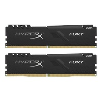 Kingston HyperX FURY Black 32GB (2x16GB) DDR4 3600MHz CL18 Udimm RAM