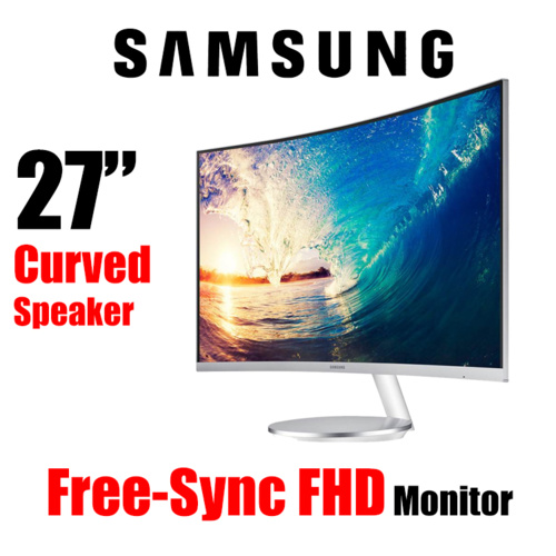 "27"" Samsung LC27F591FDEXXY Full HD Curved Monitor FreeSync 5ms Speaker"