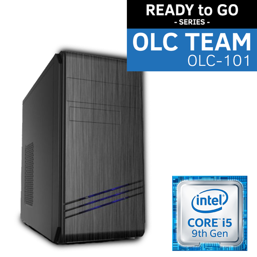 OLC-101 Team Intel® READY to GO System | i5-9400 6 Core 6 Thread | UHD Graphics | SSD